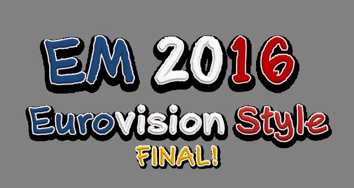 EM 2016 - Eurovision Style: Resultat av EM-Finalen