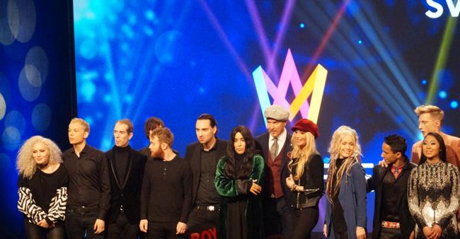Melodifestivalen 2017 är i Skellefteå