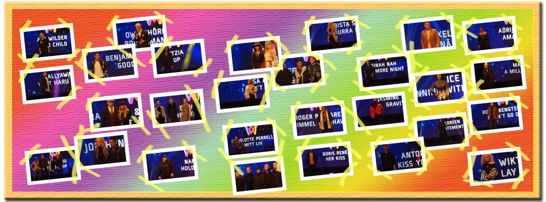 Inför Melodifestivalen 2017 presenterar vi alla tävlande