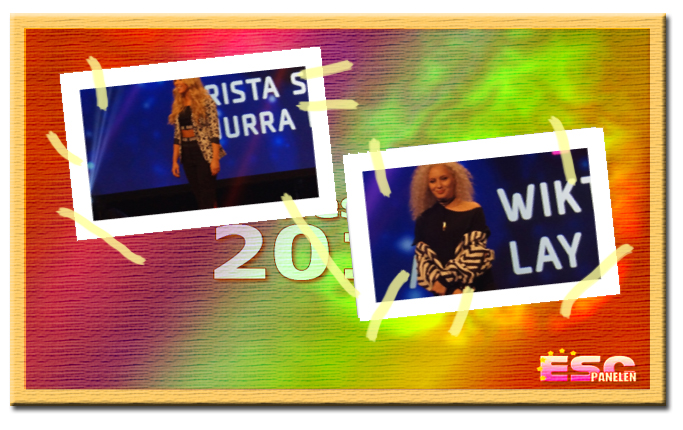 Inför Melodifestivalen 2017: Presentation av Krista Siegfrids och Wiktoria