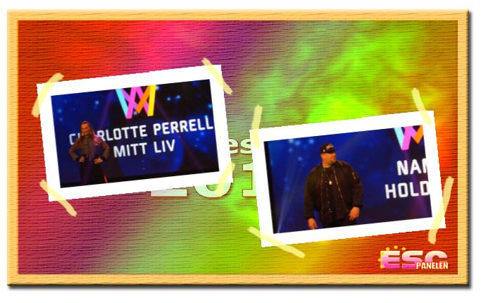 Inför Melodifestivalen 2017: Presentation av Charlotte Perrelli och Nano