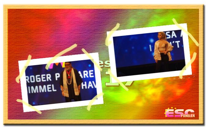Inför Melodifestivalen 2017: Presentation av Roger Pontare och Lisa Ajax