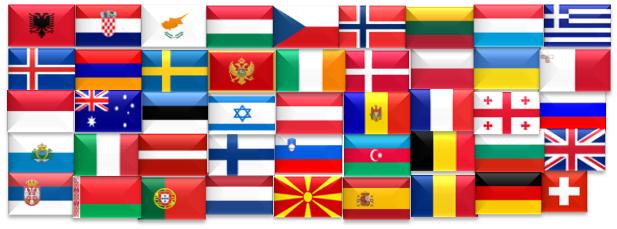 43 länder deltar i Eurovision Song Contest 2018