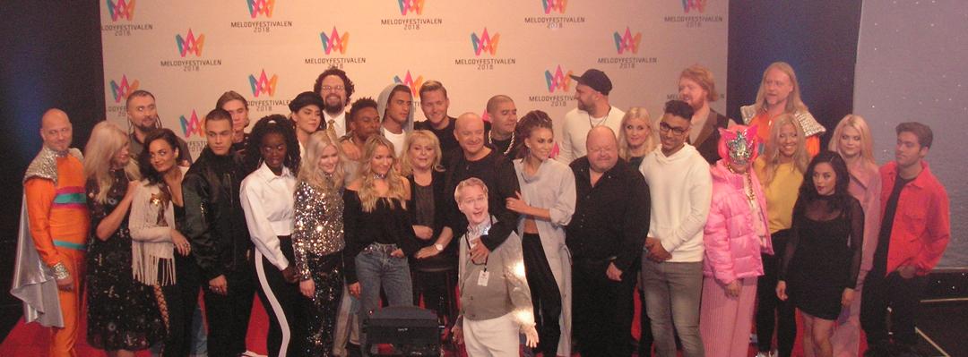 Startordningen för Melodifestivalen 2018 är officiellt presenterad