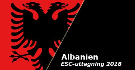 Här är de tävlande i Festivali i Këngës 56 (Albaniens Eurovisionuttagning anno 2018)