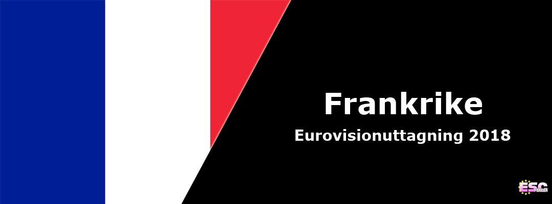 Frankrike i Eurovision Song Contest 2018