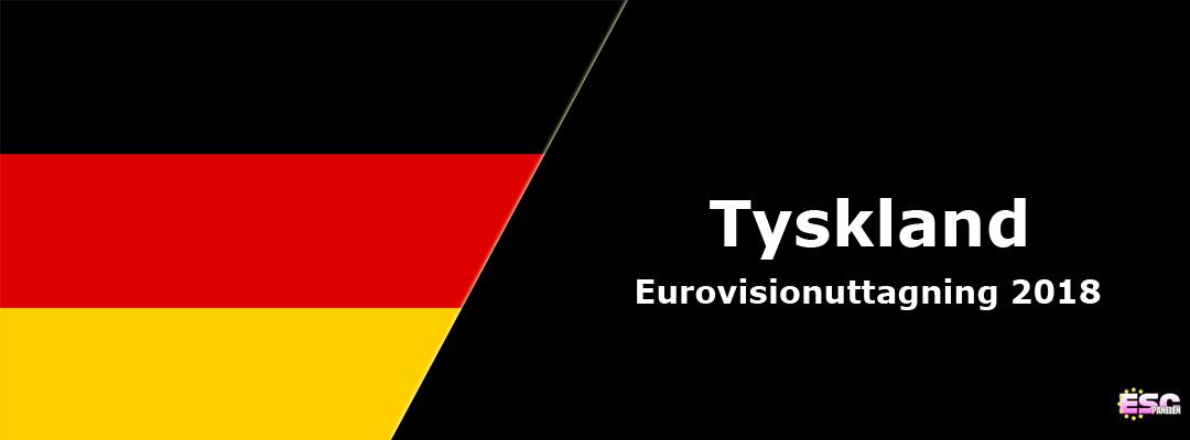 Tyskland i Eurovision Song Contest 2018