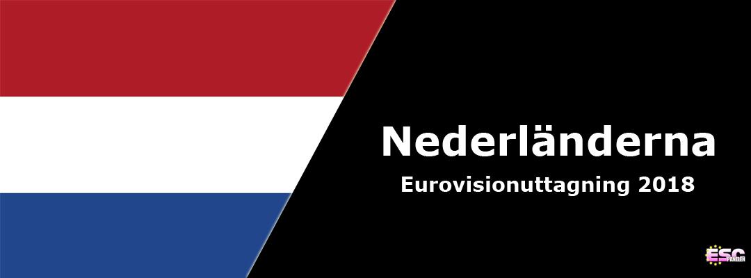 Nederländerna i Eurovision Song Contest 2018