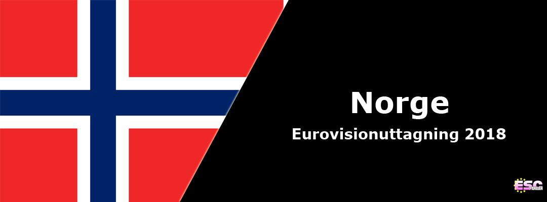 Stjärnspäckat startfält i Norsk Melodi Grand Prix 2018