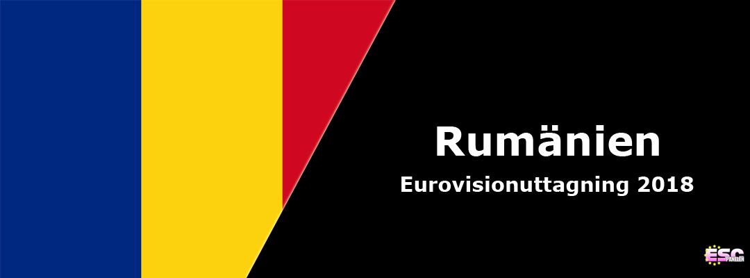 Rumänien i Eurovision Song Contest 2018