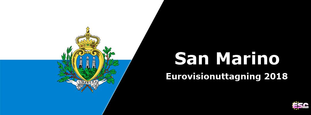 San Marino i Eurovision Song Contest 2018