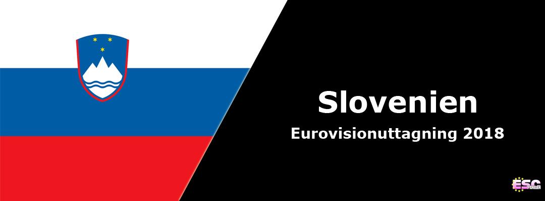Slovenien i Eurovision Song Contest 2018