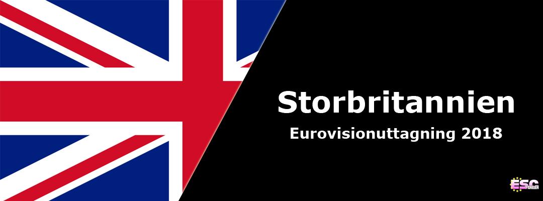 Storbritannien i Eurovision Song Contest 2018