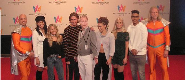 På lördag: Fjärde och sista deltävlingen i Melodifestivalen 2018