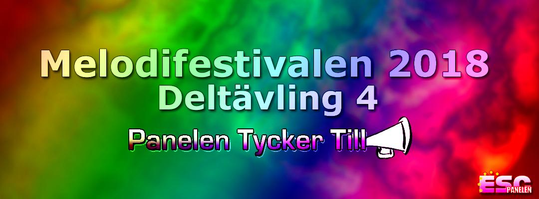 Panelen tycker till: Fjärde deltävlingen i Melodifestivalen 2018