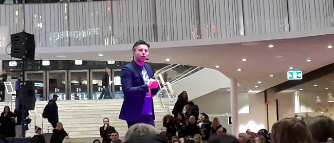 Melodifestivalen 2018: Bilder från finalens välkomstfest