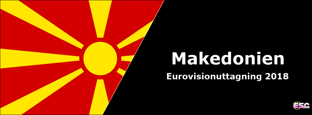 Makedonien i Eurovision Song Contest 2018