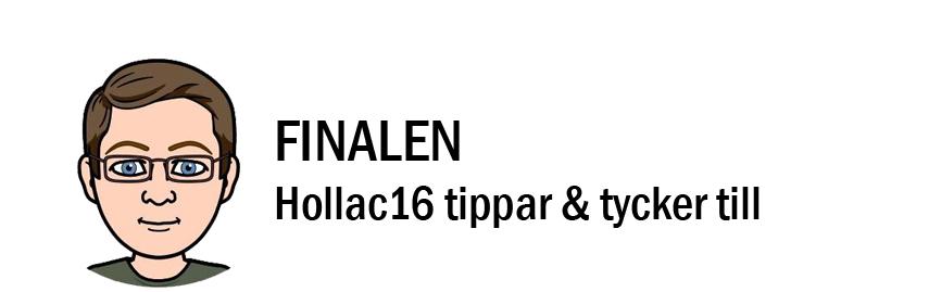 Eurovision 2018: Hollac16 tippar & tycker till inför finalen