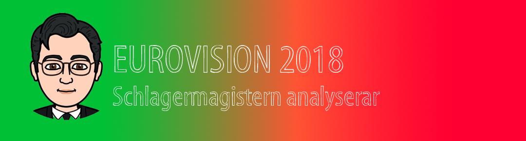 Eurovision 2018: Schlagermagisterns analys inför första semifinalen