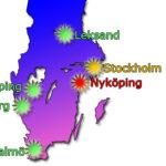 SVT har presenterat turnéplanen för Melodifestivalen 2019