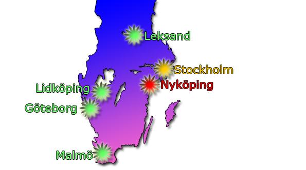 Här är turnéplanen för Melodifestivalen 2019