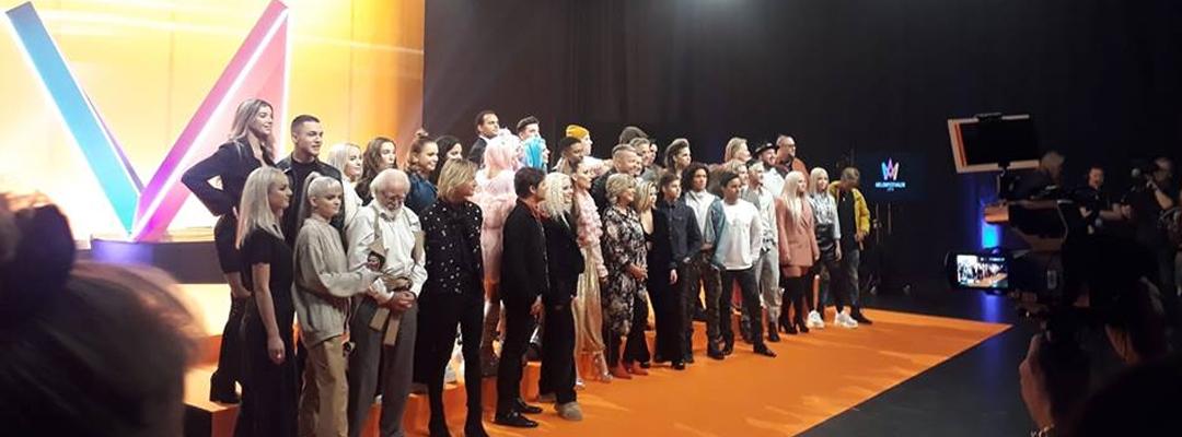 Här är startfältet till Melodifestivalen 2019