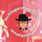 Schlagermagistern analyserar Melodifestivalen 2019