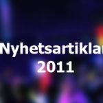 Nyhetsarkiv 2011
