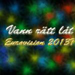 Panelen tycker till: Vann rätt låt Eurovision 2013?