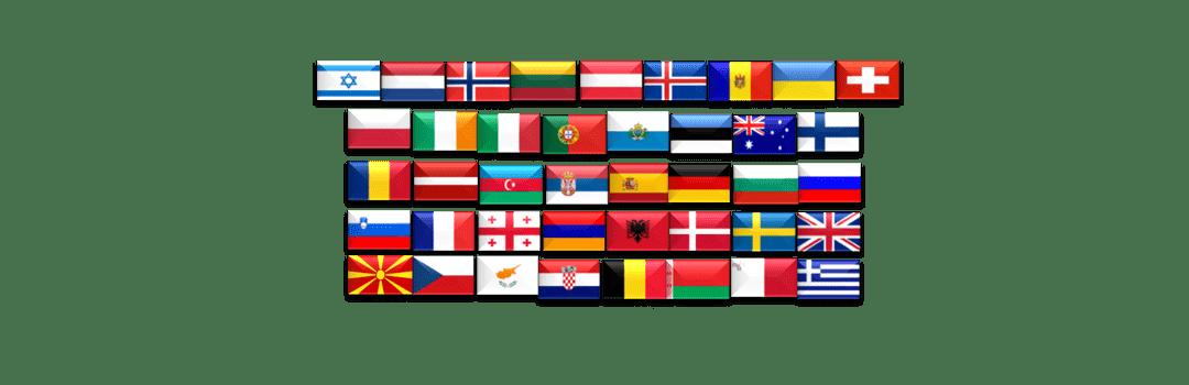 41 länder deltar i Eurovision 2020
