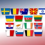 Eurovision 2020: Vilka tävlar i semi 1?