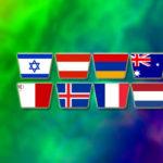 Länderna som röstar i Melodifestivalens final 2020
