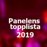 Panelens topplista - Eurovision 2019
