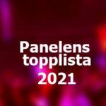 Panelens topplista - Eurovision 2021: vecka 6