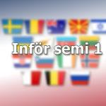 Inför: Semifinal 1, Eurovision 2021