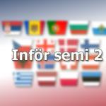 Inför: Semifinal 2, Eurovision 2021