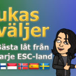 Lukas väljer: Bästa låt från varje ESC-land - del 3